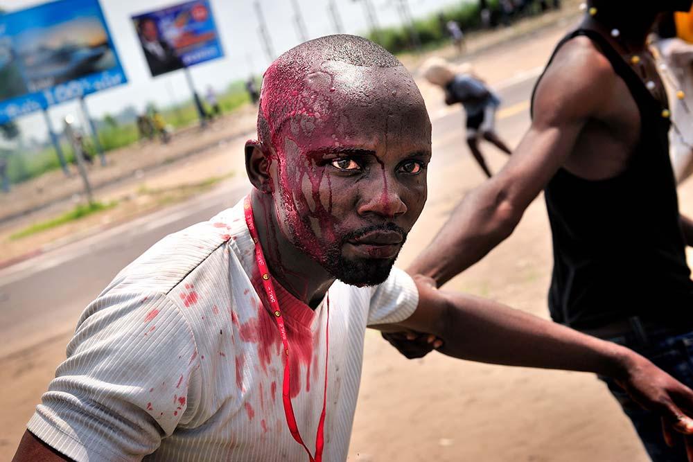 Blutige Ausseinandersetzungen zwischen Anhängern von Étienne Tshisekedi und Militär.