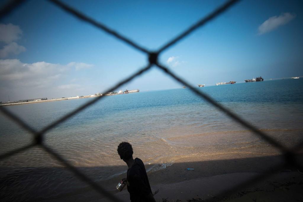 Coastal town Berbera, Somaliland
