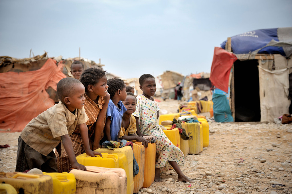 IDP camp in Hargeisa, Somaliland