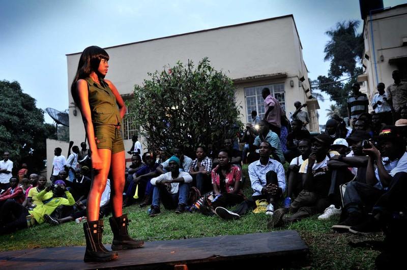 Fashion Show am LaBa Streetart Festival